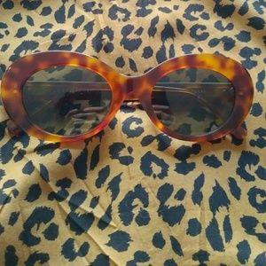 Crap Eyewear Brown Tortoise grunge 90s sunglasses